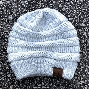 C.C Exclusives Cable Knit Beanie